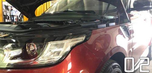 Chiptuning (чип-тюнинг) Range Rover Sport 3.0 SDV6 2013 г.в. от DYNATEK