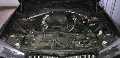 Chiptuning (чип-тюнинг) BMW X3 F25 2.0D 2016 г.в. от DYNATEK